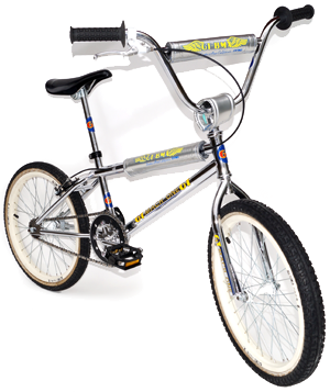 Reproduction 1995 GT Mach One BMX Decal Set-Chrome Support